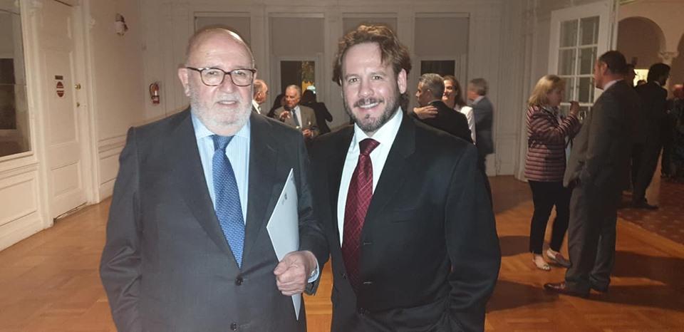 Javier García Fernández, Subsecretario del Ministerio de Cultura y Deporte de España, y Presidente del Comité Ejecutivo para la celebración del Quinto Centenario de la Primera Circunnavegación del Mundo